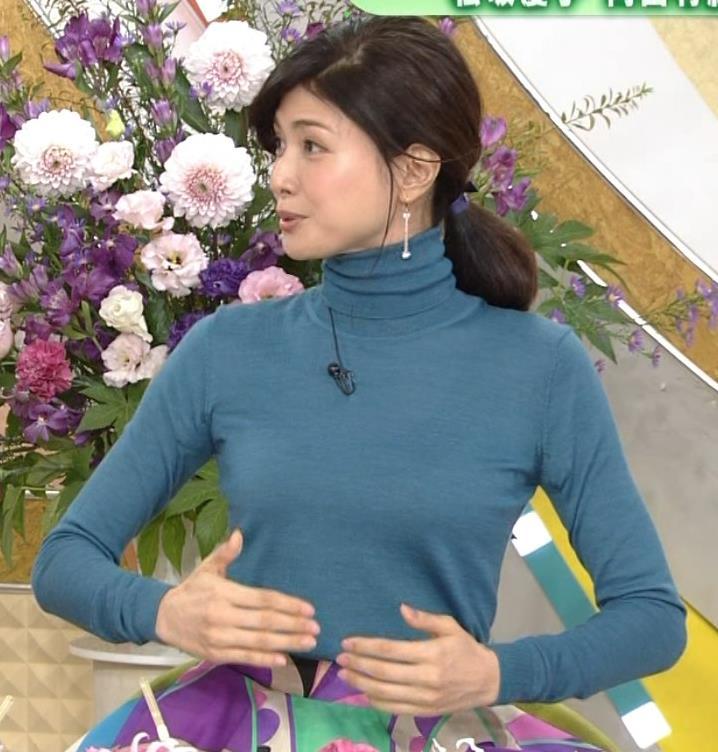 内田有紀 エロいニットおっぱいキャプ・エロ画像15