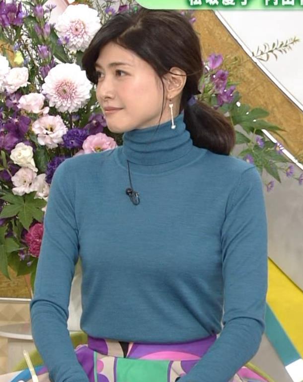 内田有紀 エロいニットおっぱいキャプ・エロ画像4