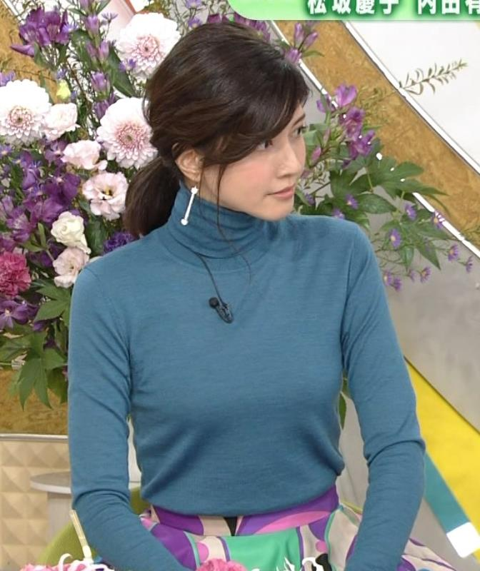 内田有紀 エロいニットおっぱいキャプ・エロ画像5
