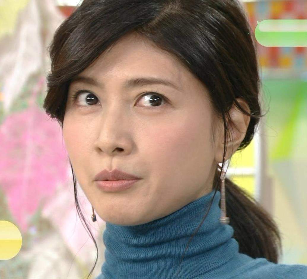 内田有紀 エロいニットおっぱいキャプ・エロ画像6