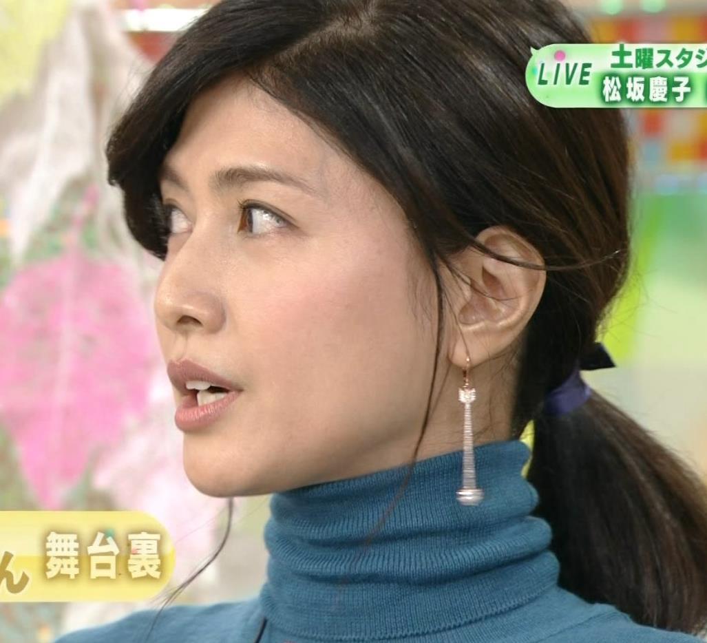 内田有紀 エロいニットおっぱいキャプ・エロ画像7