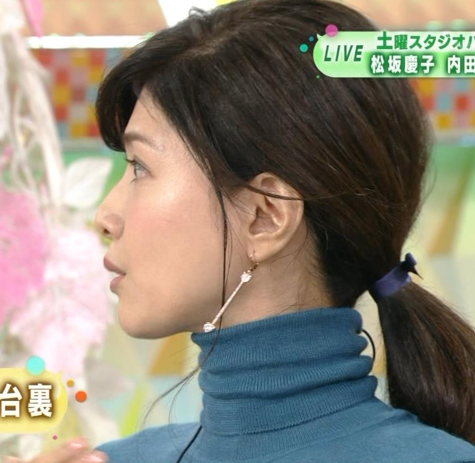 内田有紀 エロいニットおっぱいキャプ・エロ画像8