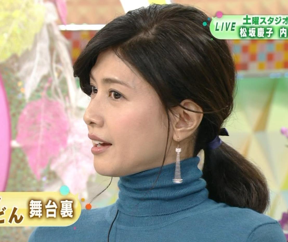 内田有紀 エロいニットおっぱいキャプ・エロ画像9