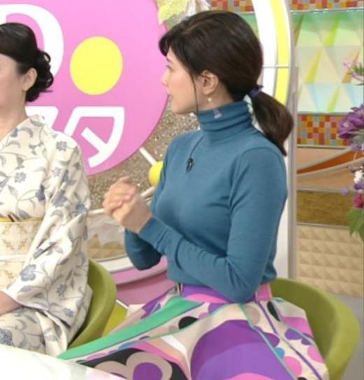 内田有紀 エロいニットおっぱいキャプ画像(エロ・アイコラ画像)