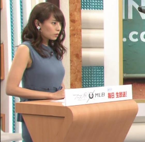 上田まりえ ピチピチなノースリーブキャプ・エロ画像11
