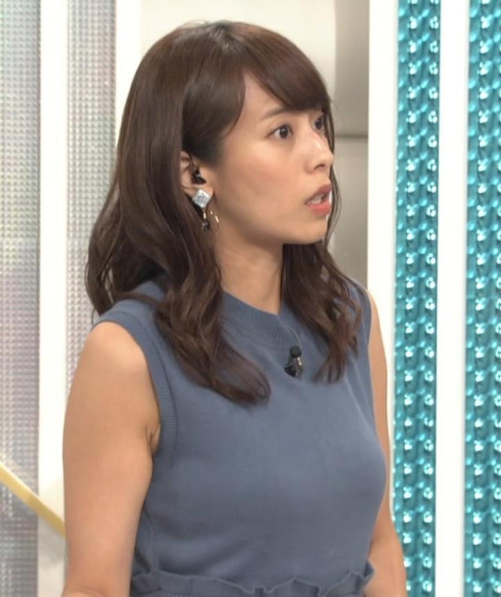 上田まりえ ピチピチなノースリーブキャプ・エロ画像8