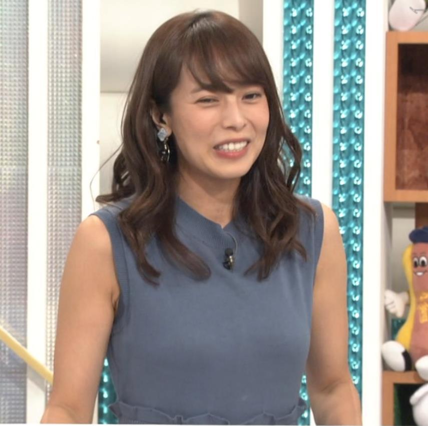 上田まりえ ピチピチなノースリーブキャプ・エロ画像9
