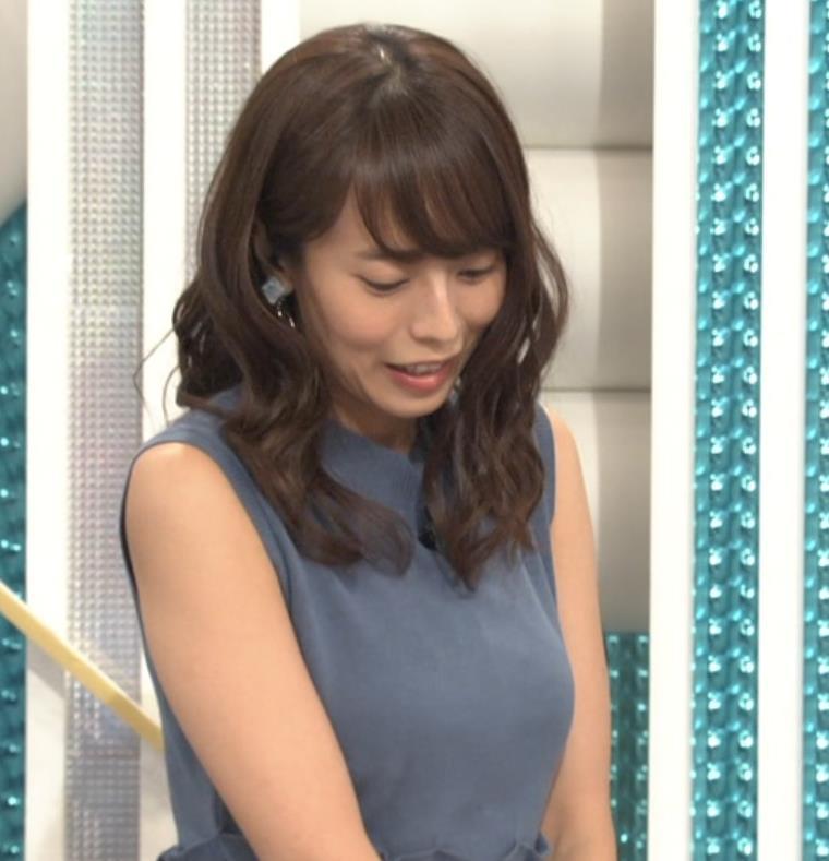 上田まりえ ピチピチなノースリーブキャプ・エロ画像10