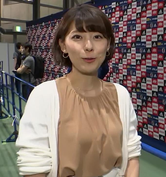 上村彩子アナ ミニスカ太ももキャプ・エロ画像