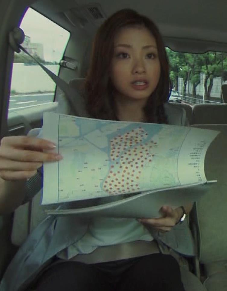 上戸彩 おっぱい揺れまくりGIF動画キャプ・エロ画像3
