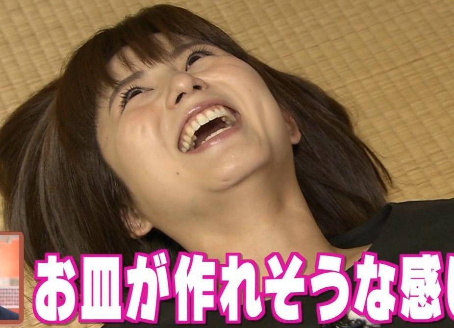 宇賀なつみアナ エロ過ぎるピタパンお尻のアップキャプ・エロ画像8