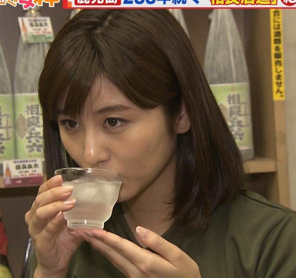 宇賀なつみアナ 巨乳×Tシャツキャプ・エロ画像8