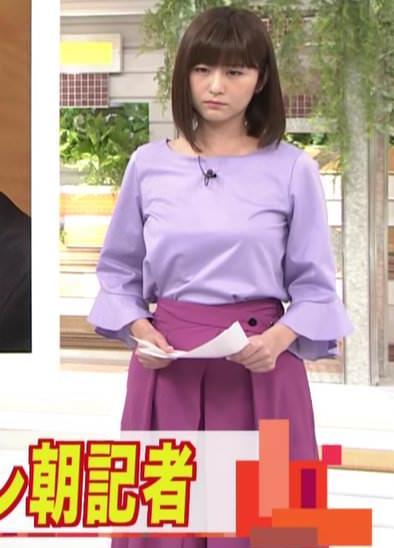 宇賀なつみアナ おっぱいがパンパンキャプ・エロ画像3