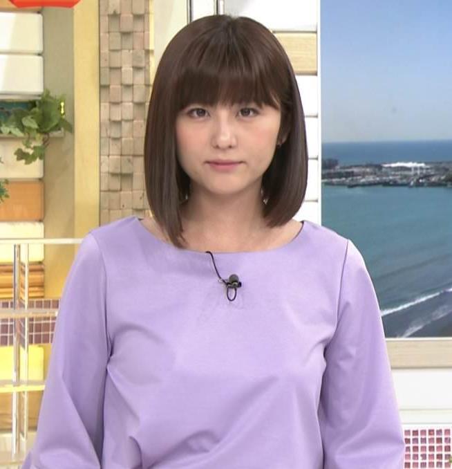 宇賀なつみアナ おっぱいがパンパンキャプ・エロ画像7