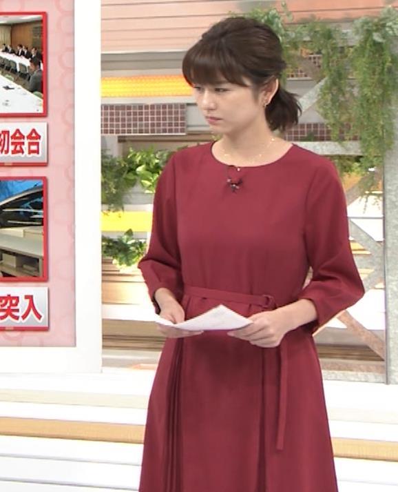 アナ ワンピース横乳キャプ・エロ画像2