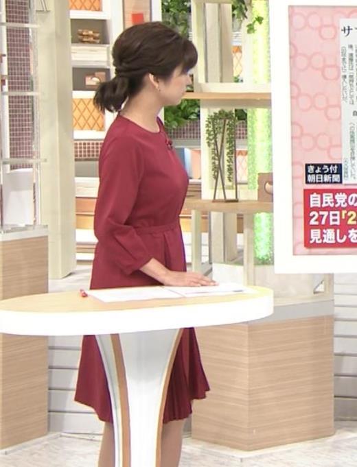 宇賀なつみ ワンピース横乳キャプ画像(エロ・アイコラ画像)