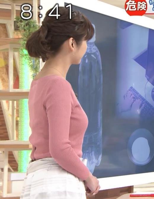 宇賀なつみ 横乳が最高にエロい回キャプ画像(エロ・アイコラ画像)