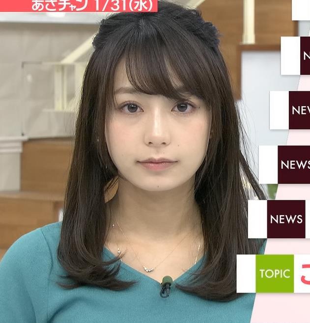 宇垣美里アナ またおっぱいがクッキリのニットキャプ・エロ画像4