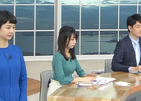 宇垣美里アナ またおっぱいがクッキリのニットキャプ・エロ画像5