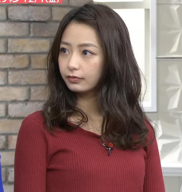 宇垣美里アナ ニットおっぱいキャプ・エロ画像
