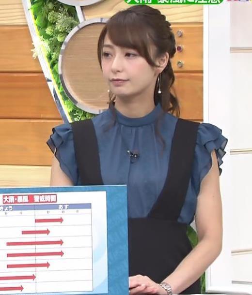 宇垣美里 「ひるおび」キャプ画像(エロ・アイコラ画像)