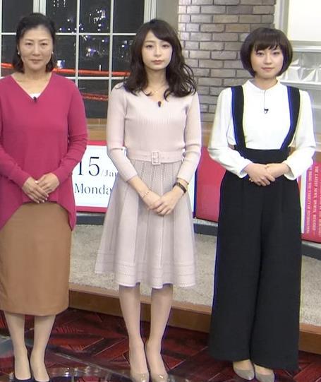 宇垣美里アナ かわいい女子アナのニット乳キャプ・エロ画像3