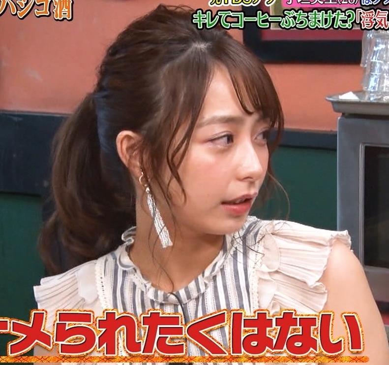 宇垣美里 エロかわいい服キャプ・エロ画像9