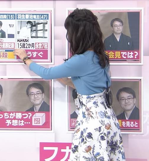 宇垣美里アナ いつもより大きいニットおっぱいキャプ・エロ画像6