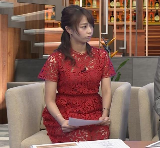 宇垣美里アナ 透け透けエロ衣装キャプ・エロ画像3