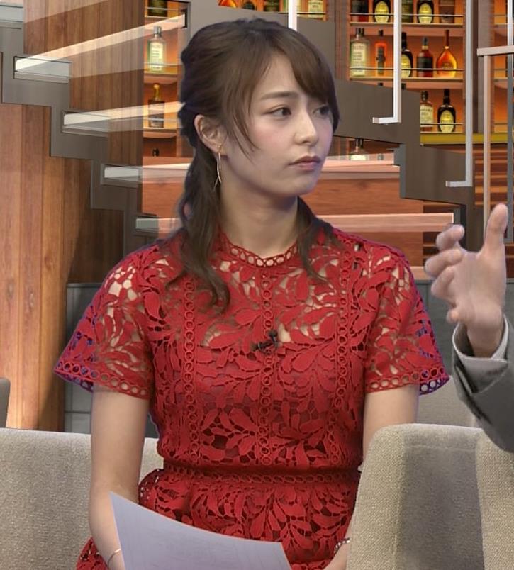 宇垣美里アナ 透け透けエロ衣装キャプ・エロ画像4