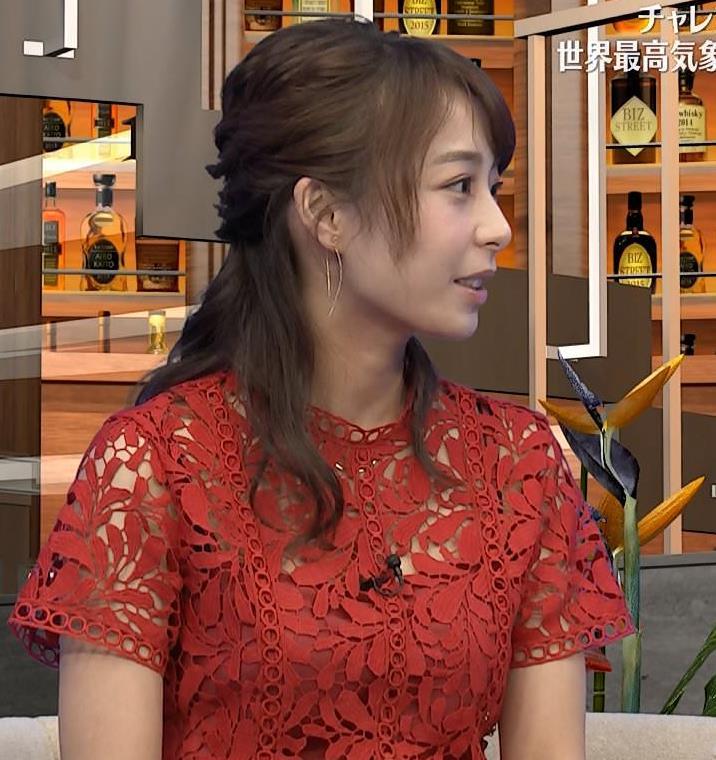 宇垣美里アナ 透け透けエロ衣装キャプ・エロ画像6