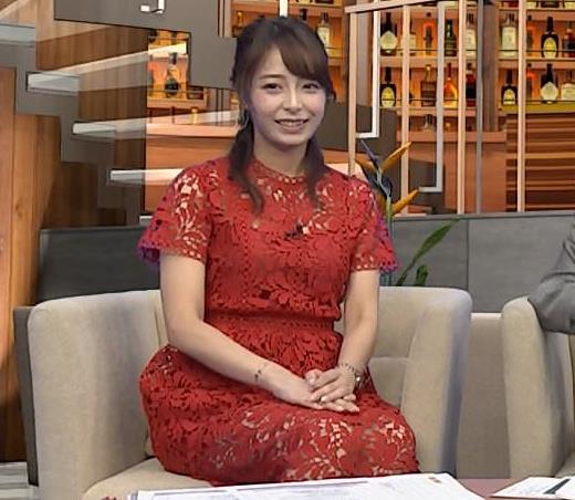 宇垣美里アナ 透け透けエロ衣装キャプ・エロ画像7