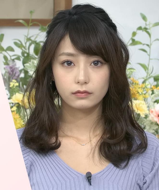 宇垣美里アナ ニット横乳♡♡キャプ・エロ画像4
