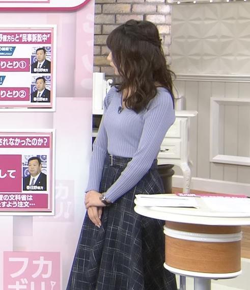 宇垣美里アナ ニット横乳♡♡キャプ・エロ画像6