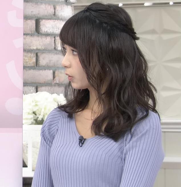 宇垣美里アナ ニット横乳♡♡キャプ・エロ画像7