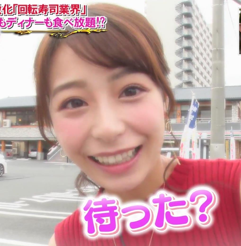 宇垣美里アナ 食べてるところのドアップ!キャプ・エロ画像2
