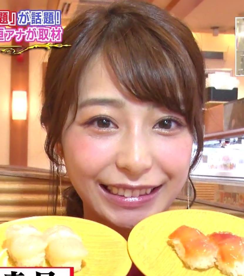 宇垣美里アナ 食べてるところのドアップ!キャプ・エロ画像11