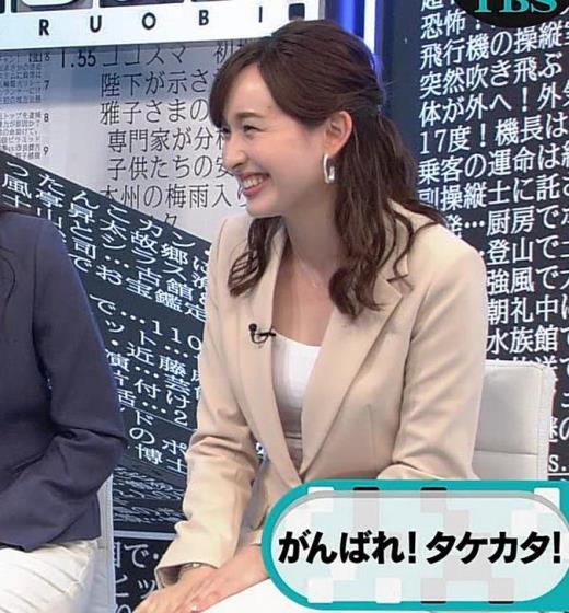 宇賀神メグ 胸元がエロい服キャプ画像(エロ・アイコラ画像)