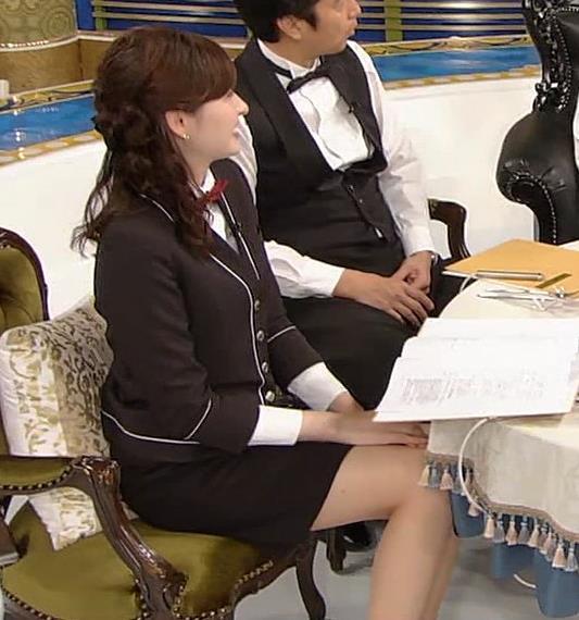 宇賀神メグ エロい太ももを観る番組キャプ・エロ画像11