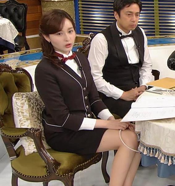宇賀神メグ エロい太ももを観る番組キャプ・エロ画像3