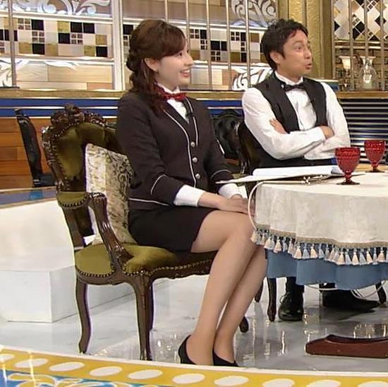 宇賀神メグ エロい太ももを観る番組キャプ・エロ画像4