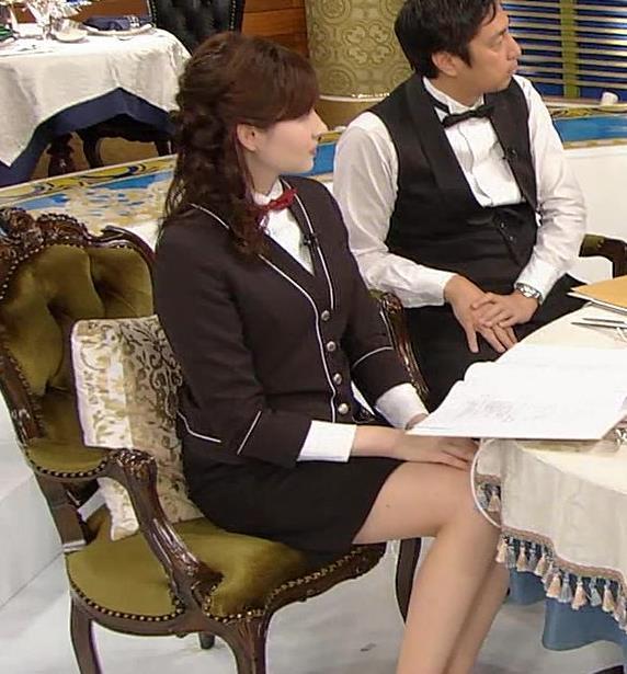 宇賀神メグ エロい太ももを観る番組キャプ・エロ画像8