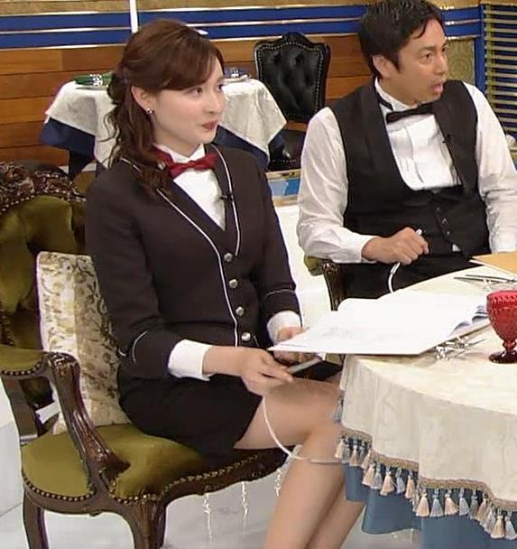 宇賀神メグ エロい太ももを観る番組キャプ・エロ画像9