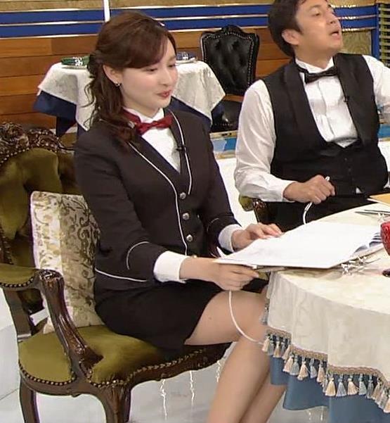 宇賀神メグ エロい太ももを観る番組キャプ・エロ画像10