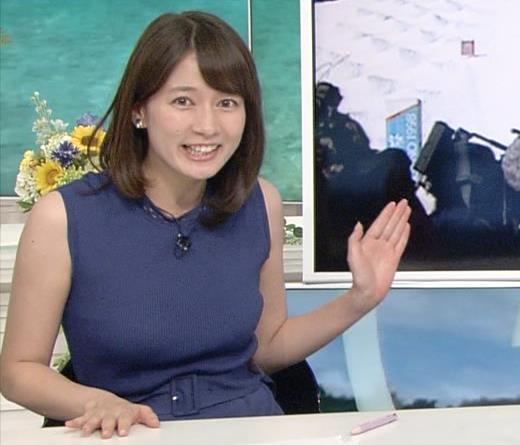 宇内梨沙アナ 巨乳が目立つ衣装キャプ画像(エロ・アイコラ画像)