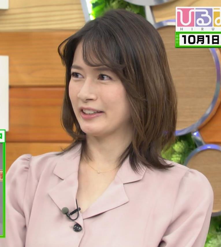 宇内梨沙アナ エッチな胸元・おっぱいキャプ・エロ画像4