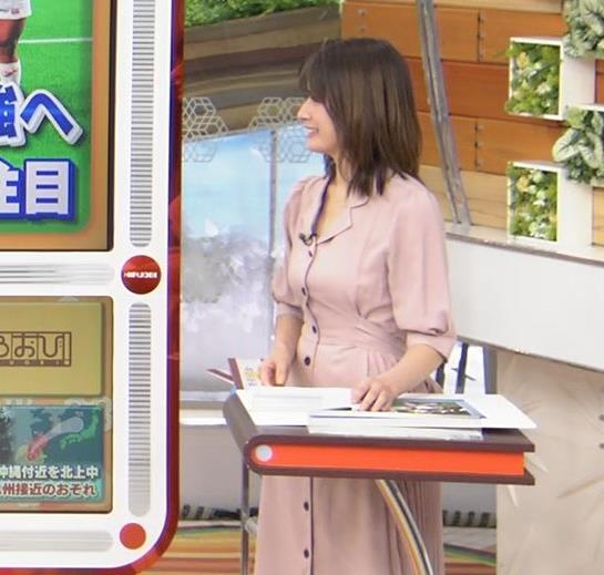 宇内梨沙アナ エッチな胸元・おっぱいキャプ・エロ画像10