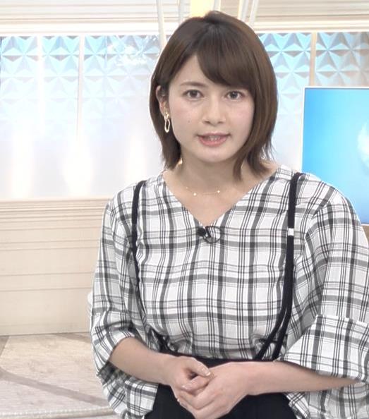 宇内梨沙アナ NEWS23キャプ・エロ画像