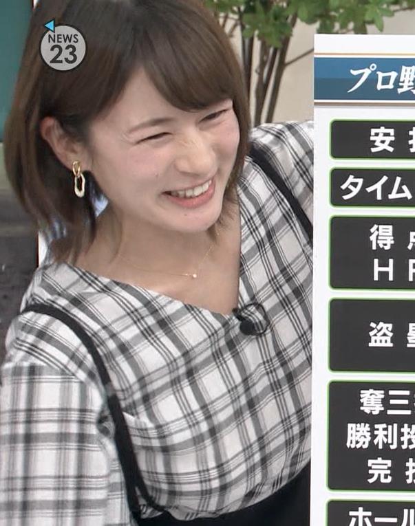 宇内梨沙アナ NEWS23キャプ・エロ画像7