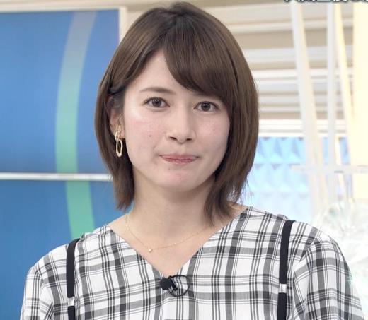 宇内梨沙アナ NEWS23キャプ画像(エロ・アイコラ画像)